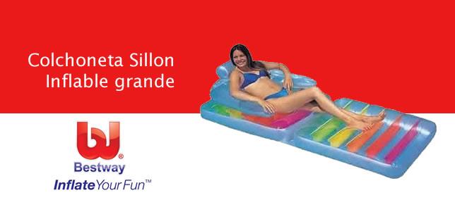 Colchoneta Sillon Inflable grande