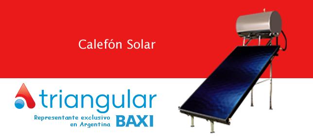 Calefón Solar